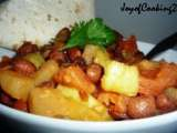 Recipe Mexican beans and fruit !!