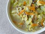 Recipe Chayote (chokos) egg-drop soup