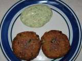 Recipe Sabudana vada with chutney