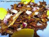 Recipe Spicy anchovis/nethallu curry