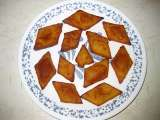 Chandrakantha / chandrakanthalu sweet (moong dal sweet )