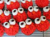 Recipe Cupcake a week: elmo