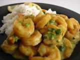 Recipe Prawn in mango mustard sauce