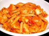 Recipe Salmon penne with vodka sauce
