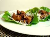 Recipe Chicken lettuce wraps