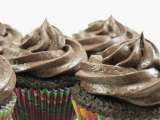 Recipe Chocolate cardamom cupcakes with chocolate cream cheese frosting