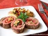 Recipe Flank steak roulade