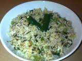 Recipe Spring onion rice recipe