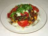 Recipe Hearty vegetable chili plus baked potato bar