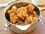 Recipe Tandoori cauliflower with mint chutney
