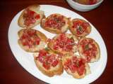 Recipe Italian sausage stuffed peppers and bruschetta al pomodoro recipes