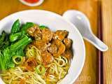 Recipe Mie ayam jamur - indonesian chicken mushroom noodle