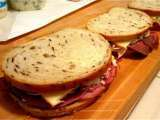Recipe Poker night snacks: mini sandwiches from nate 'n al's delicatessen