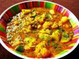 Recipe Aloo gobi/cauliflower curry