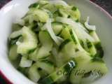 Recipe Burmese cucumber onion salad