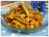 Recipe Tindora and sweetcorn fry