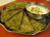 Recipe Broccoli stuffed paratha (indian bread)