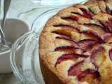 Recipe Fresh plum cake