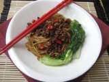 Recipe Noodles with spicy ground pork recipe