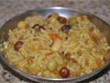 Recipe Ankurit beejon ki khichdi (mixed spicy rice with sprouts)