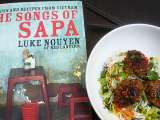 Recipe Songs of sapa (chargrilled pork patties + vermicelli salad)