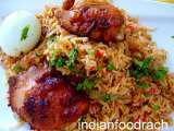 Recipe Fried chicken biryani