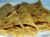 Recipe Sweet potato and mint paratha