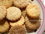 Recipe Soda cream crackers