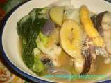 Recipe Pesang dalag (mudfish stew in ginger)