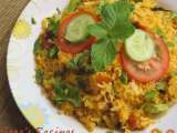 Recipe Fried fish masala rice