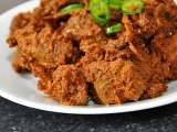 Recipe Potluck idea: black beef dry curry