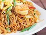 Recipe Fried vermicelli with shacha sauce