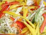 Recipe Mango cabbage slaw