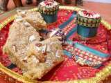 Recipe Gujarati badam pak- almond fudge