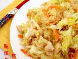 Recipe Stir fry glass noodles with vegetables