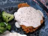 Recipe Chicken fried steak w/ cream gravy & thank you mr. walmart man