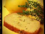 Recipe Lemon thyme cake