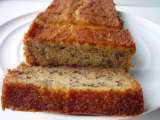 Soft and moist banana cake