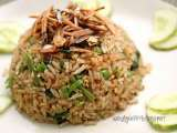 Recipe Nasi goreng kampung, malay countryside fried rice