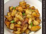 Recipe Spicy roasted potatoes