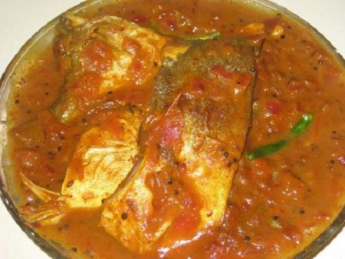 South indian fish curry with tamarind