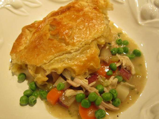 Chicken pot pie for realists