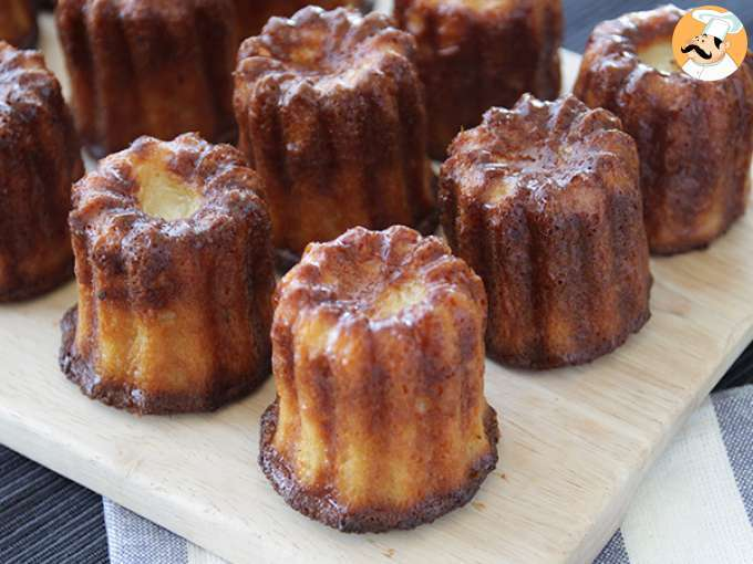 Canelés of bordeaux - video recipe !