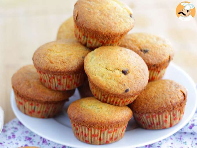 Chocolate chips muffins - video recipe !