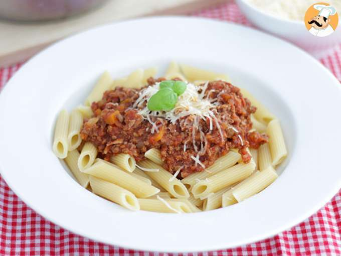 Bolognese sauce, the real recipe !
