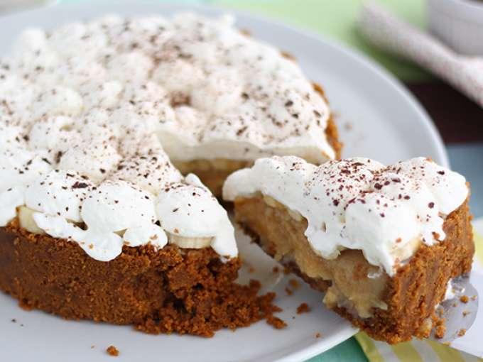Banoffee pie - video recipe!