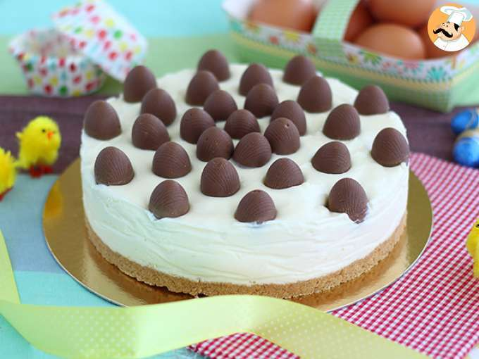 Easter cheesecake - video recipe!
