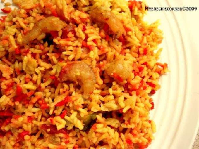 Prawn pulao/ prawn biryani (shrimp in indian spicy rice), Recipe by ...