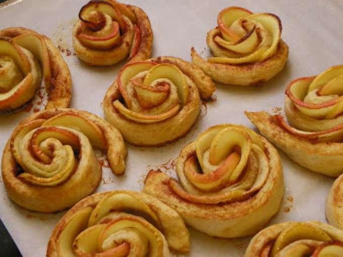 булочки с яблоками рецепт с фото