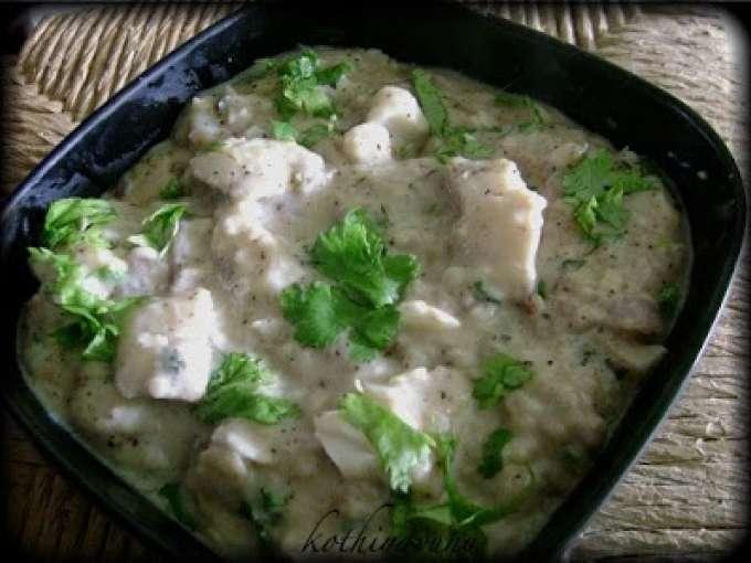 Fish orly fish in white sauce recipe petitchef for White fish sauce recipe